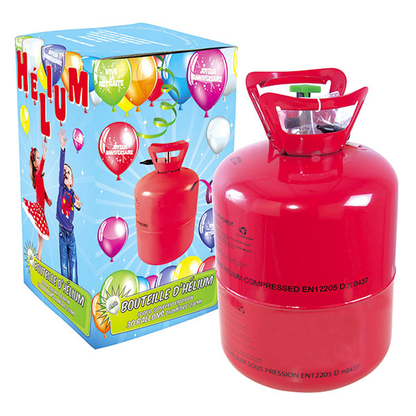 Bouteilles Hélium 0,25 m3